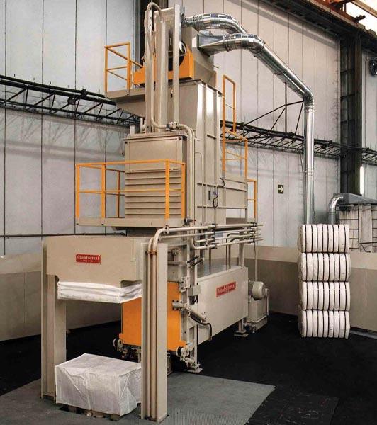 Pressa automatica per fibre in fiocco alta produzione GSA